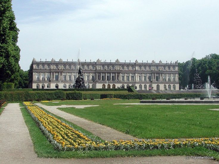 Herrenchiemsee Palace in Chiemsee, Germany
