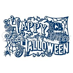 Tattered Lace - Dies - Essentials Happy Holloween Ornate