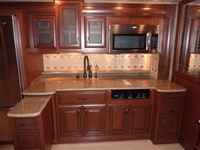 How About This RV Kitchen?