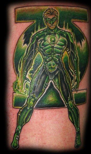 Green Lantern #tattoo