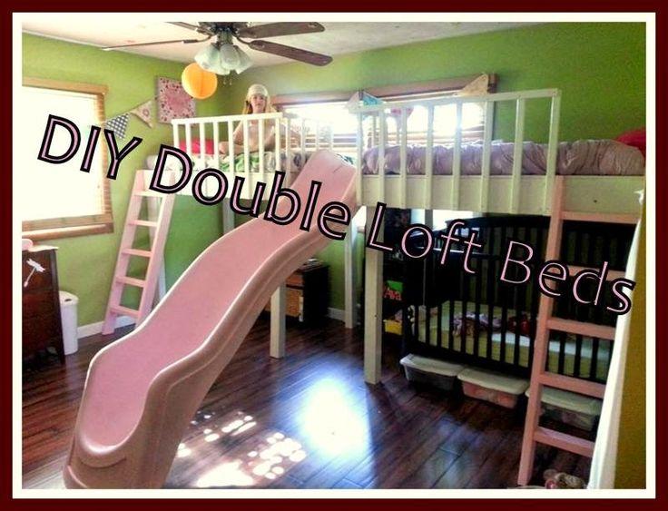 Best 25 Double Loft Beds Ideas On Pinterest 2 Boys