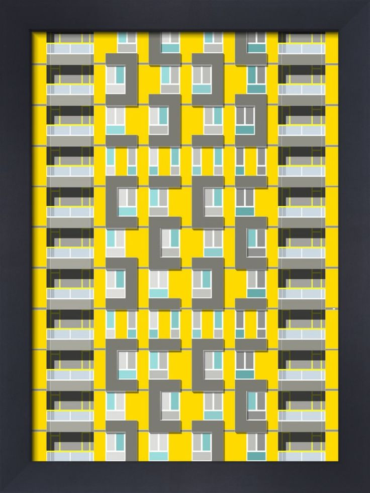 Sivill House Art Print by Oscar Francis at King & McGaw