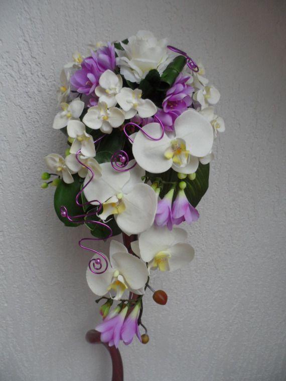 1000 id es sur le th me bouquet en cascade sur pinterest cascade de bouquet - Bouquet de mariee artificiel pas cher ...