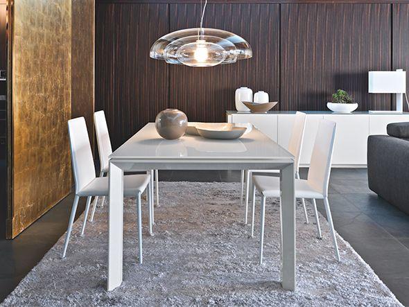 Die besten 25 esstisch glas ausziehbar ideen auf for Design keramik esstisch ausziehbar midj akil