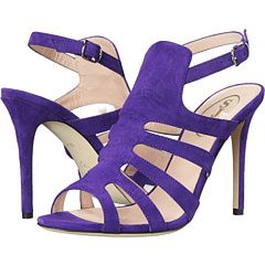 The perfect purple, strappy heel for a pop of color under your wedding gown! SJP by Sarah Jessica Parker Zofia