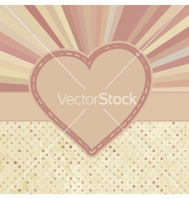 Valentine pattern with hearts eps 8 vector on VectorStock®
