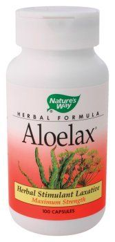 Nature's Way - Aloelax, 100 capsules by Nature's Way. Save 35 Off!. $6.47. Aloelax is now in vegetarian capsules (VCAPS). This is a proprietary blend containing 530 mg per capsule of Aloe Vera (latex, leaf) and Fennel Seed.