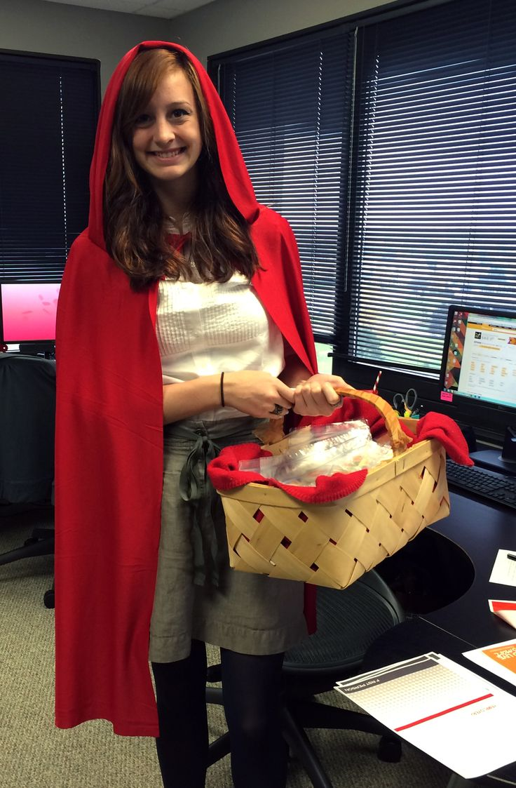 halloween ideas for the office. Creative Halloween Costume For The Office | Little Red Riding Hood Ideas