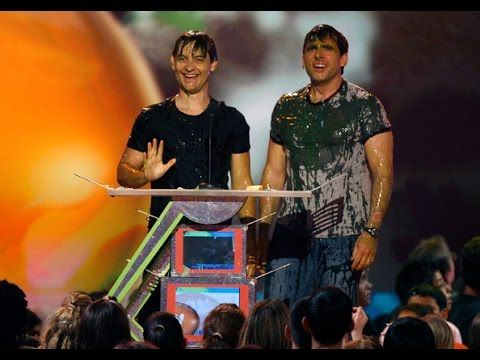 Tobey Maguire Slimed ►KCAs 2007