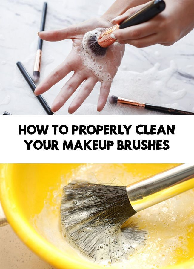 Makeup tools cleaning - How to properly clean your makeup ...