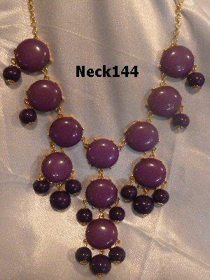 Necklace Mauve Color #Neck144