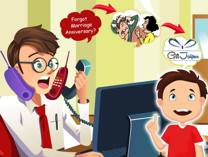 Forgot your #Marriage #Anniversary?? Giftjaipur is here to solve your Problem. Connect with us & Get the Benefits - https://www.giftjaipur.com/