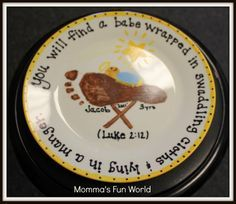 Printable Baby Jesus Craft | Momma's Fun World: Baby Jesus in a manger kids craft
