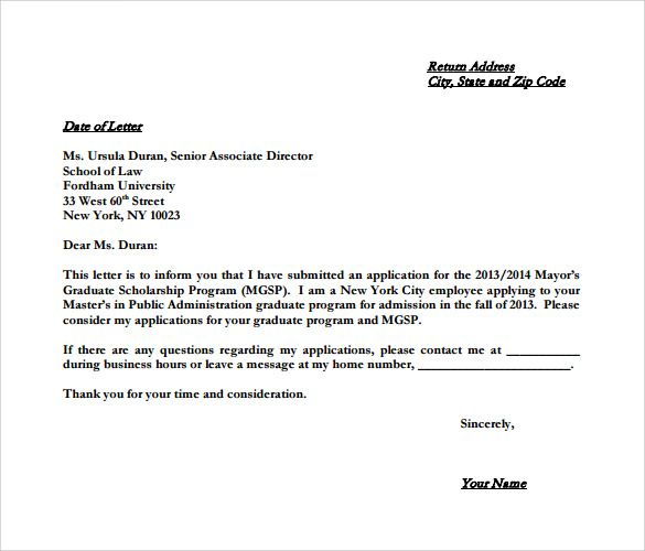 College Letter Of Intent Examples from i.pinimg.com