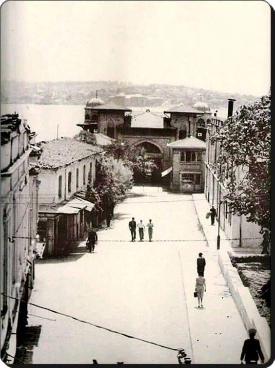 1940 yıkımları öncesi Beşiktaş