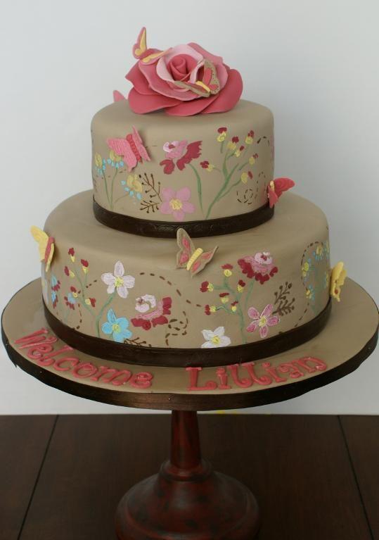 I'd make this one a wedding cake, so pretty!