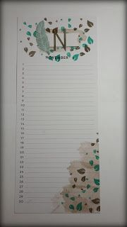Stampin'UP!  Perpetual Birthday Calendar Project Kit