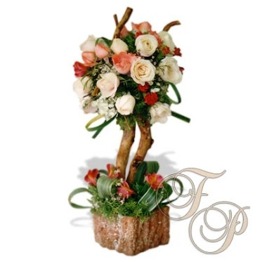 """Diga """"Te Amo"""" este día de San Valentín con flores, por supuesto de Floristería Primavera."""