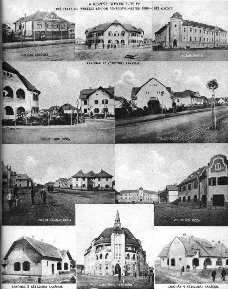 Régi képek a Wekerléről.