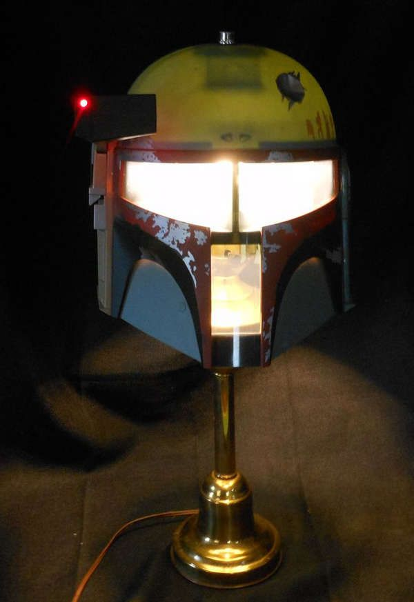 DIY Bounty Hunter Lamps - 164 Best Nerdy Decor Images On Pinterest Home, DIY And Crafts