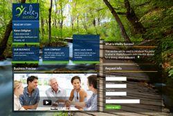 Lead generating website created for VitalitySuccess.com Melaleuca Inc. Network Marketing