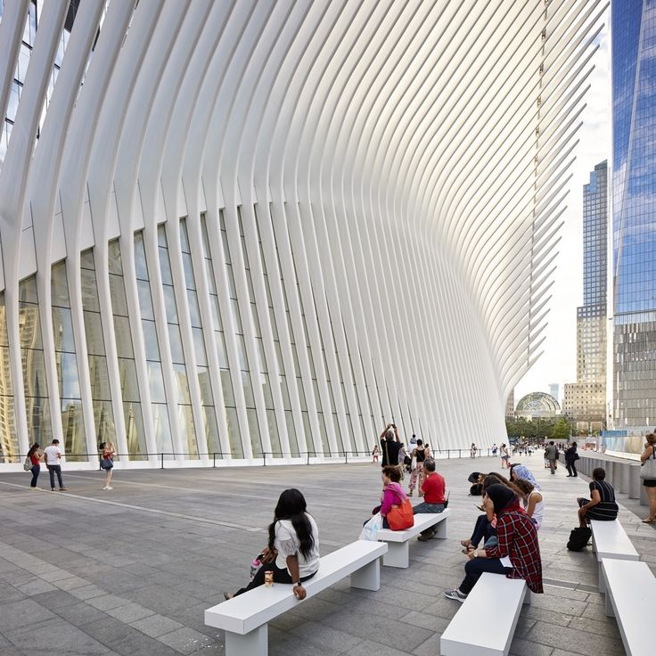 Gallery of World Trade Center Transportation Hub / Santiago Calatrava - 40