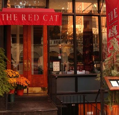 The Red cat restaurant is the one of my favorite restaurant in Chelsea. It a great place to eat with friends after opening parties.