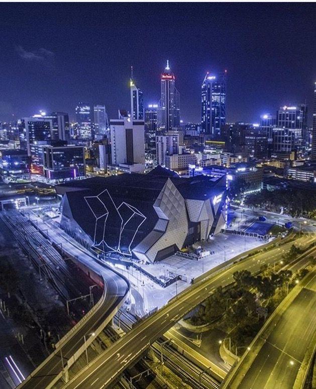 Perth Arena by airloftmedia
