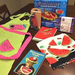 Giveaway = Watermelon Prize Pack  @Watermelonboard @thefitfork #LivingOnTheWedge