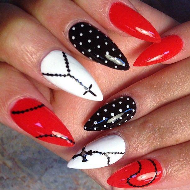 rosary nail art | rosary #beads #naillove #nailaffair #nailart #nails ... | NAILS