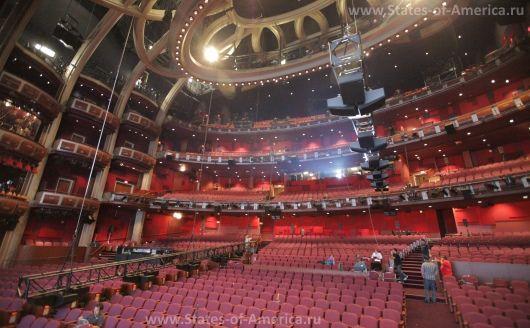 Внутри театра Кодак