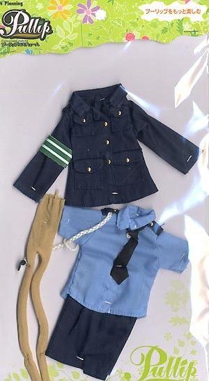#transformer jun planning pullip costume police uniform + cap set