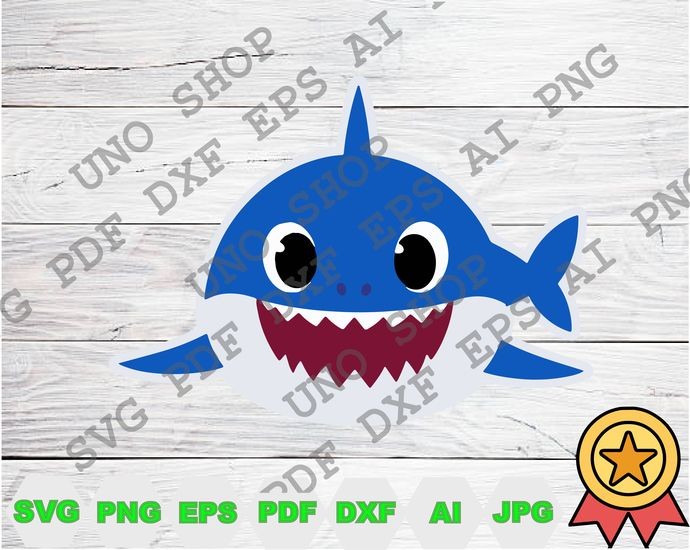 Daddy Shark Svg Baby Shark Family Instant Download Baby Shark Family Png Baby Shark Svg For Cricut Baby Shark Png Clipart By Unoshopsvg 2 22 Usd