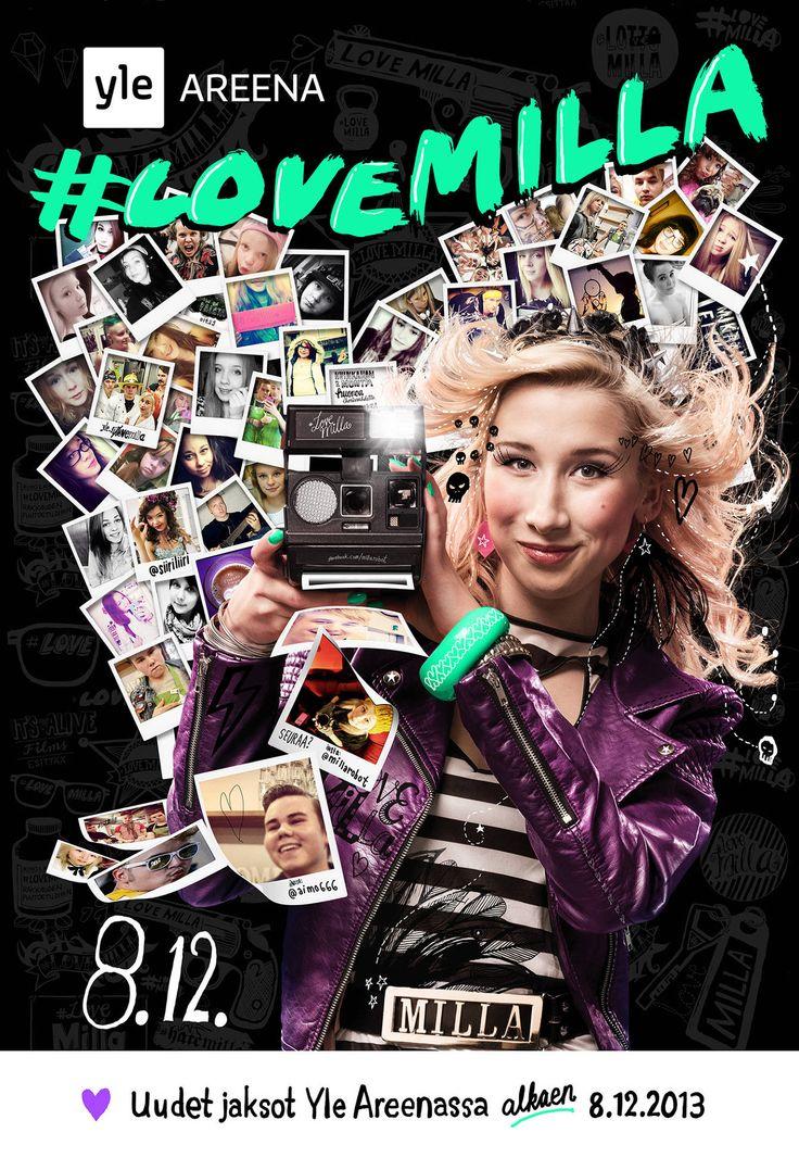 #lovemilla poster for 2nd season.