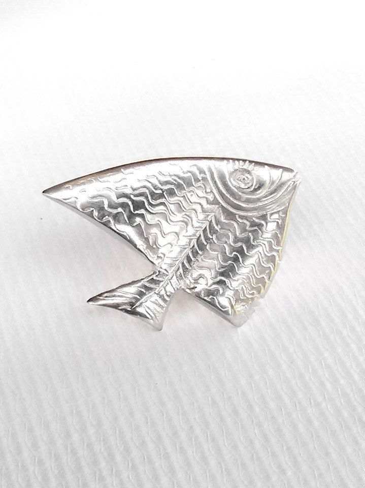 Big Tropical Fish Ring , Silver Fish Ring , Ocean Jewelry , Sea Jewelry , Sea Ring , Big Ring , Statement Ring , Aquarium Ring , Beach Ring by profoundgarden on Etsy