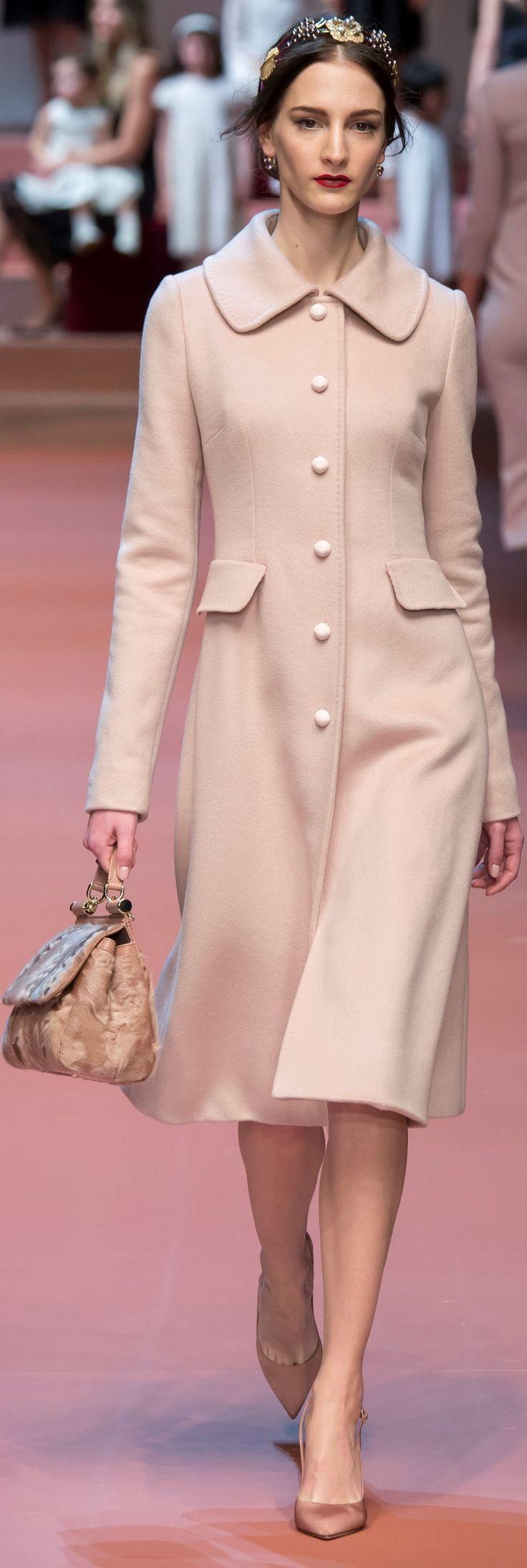 Dolce & Gabbana - Coat Blush