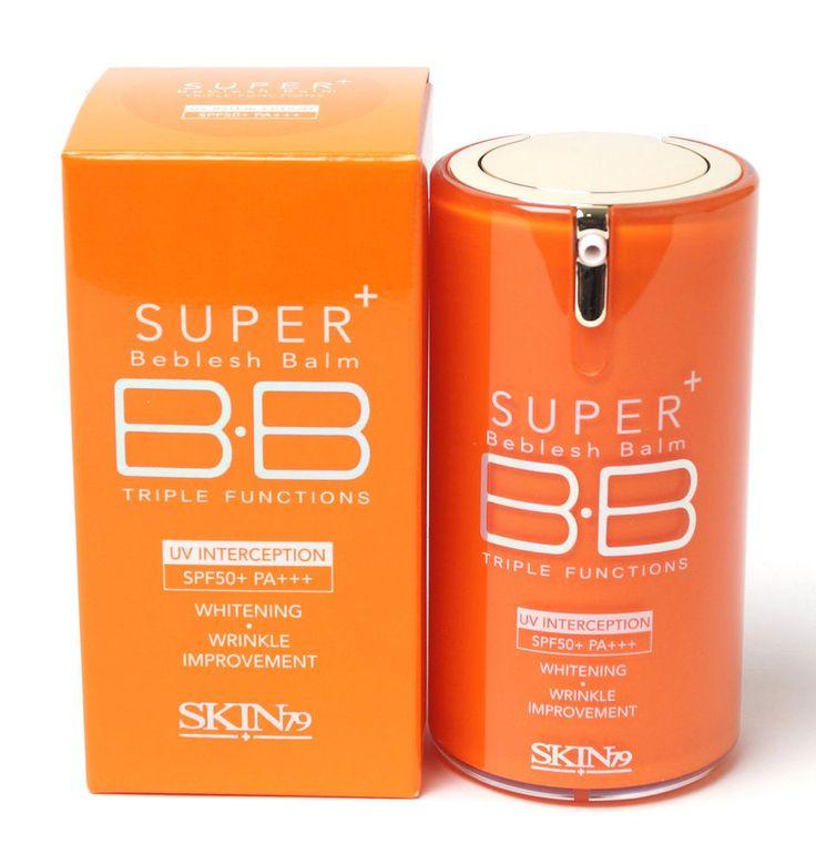 SKIN79 BB Cream/Super Plus Beblesh Balm Triple Function SPF30PA++Orange(New Ver) #Skin79