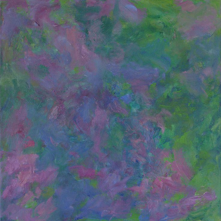 Rautio: Lilacs - Syreenit, 80x80 cm, 2017.