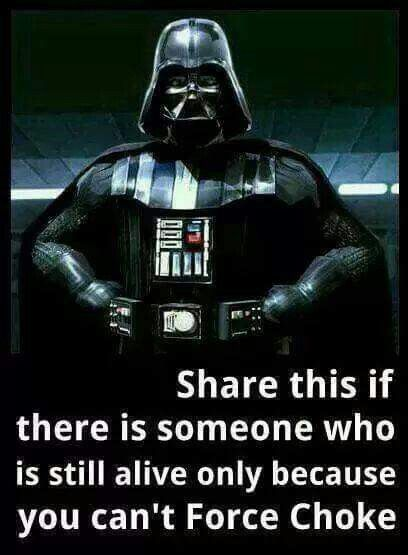 Too true... ;-) The real Vader Darth my Dad by Lucille Annette Meyer the real Grand Marquesa General Empress Leia Darth