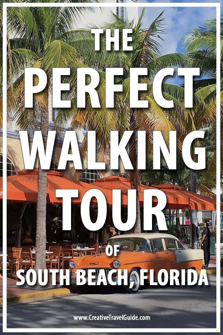 Talek from Travels with Talek, shares her perfect walking tour of South Beach, Florida. Don't forget to check out her restaurant recommendations!