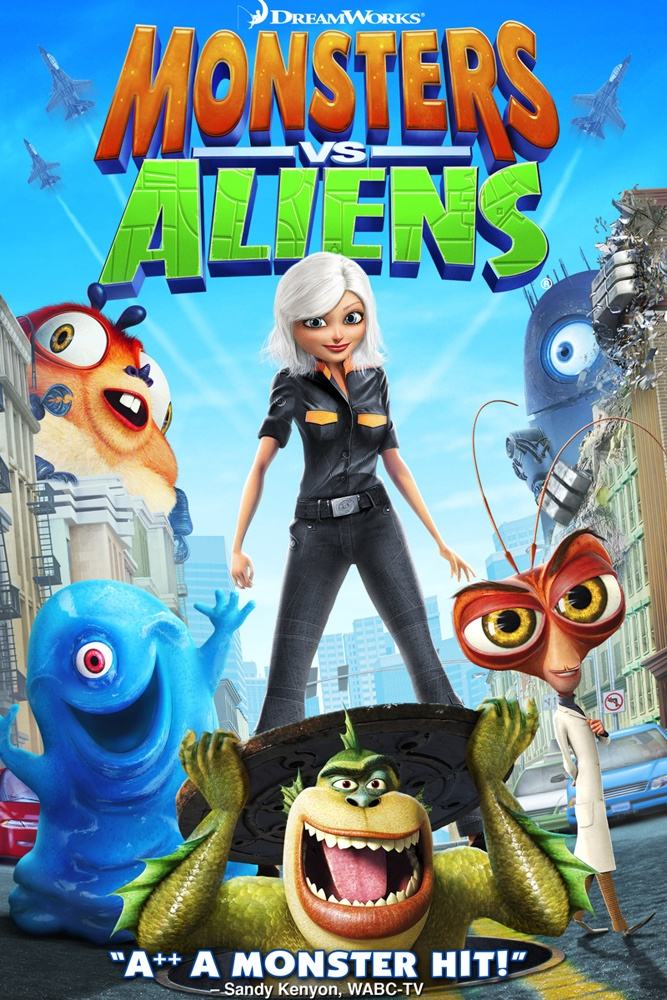14 best images about monsters vs aliens on pinterest we