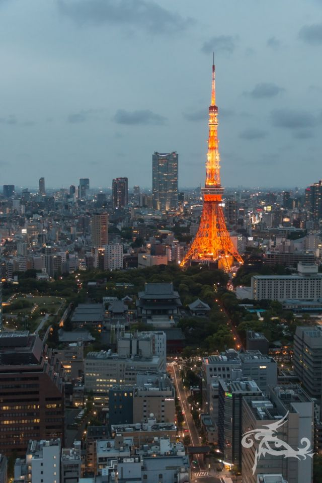 Japan II / Tag 3 / Tokyo / Der katholische Dom von Tokyo und Wahnsinns-Aussichten