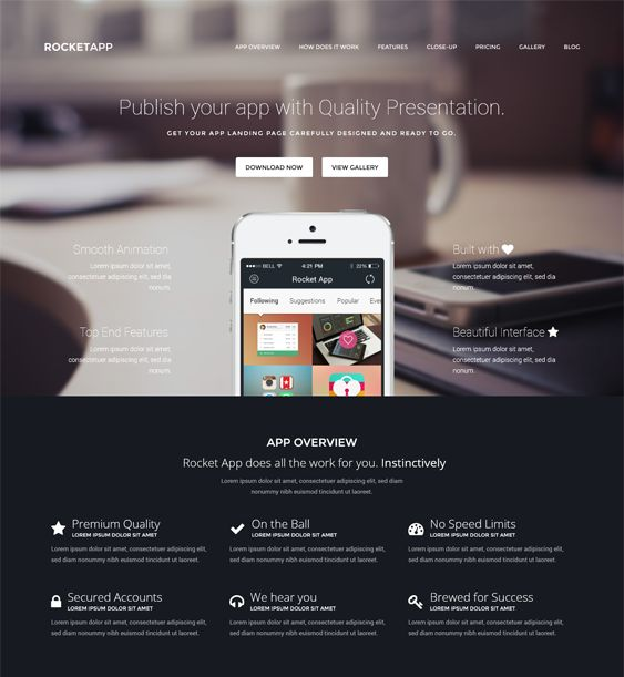 17 best 17 More of the Best Landing Page WordPress Themes images by ...