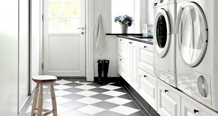 Vaskerom i moderne tolkning på Fyn | JKE Design