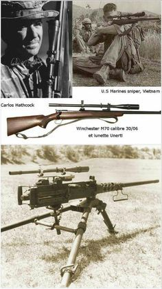 c8b2a75a Carlos Norman Hathcock II was a United States Marine Corps (USMC) sniper  with a