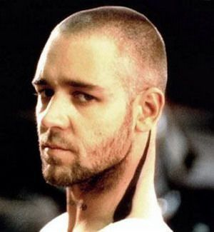 Body roman heart shaved head have