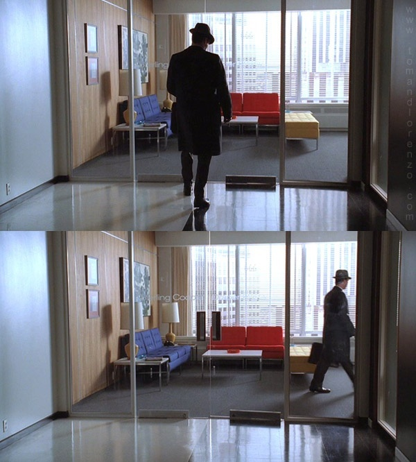 Sterling Cooper office 60s interiors