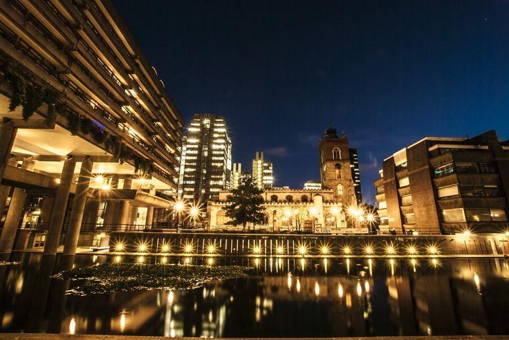 Barbican Lights by Roman Inostrantsev on 500px