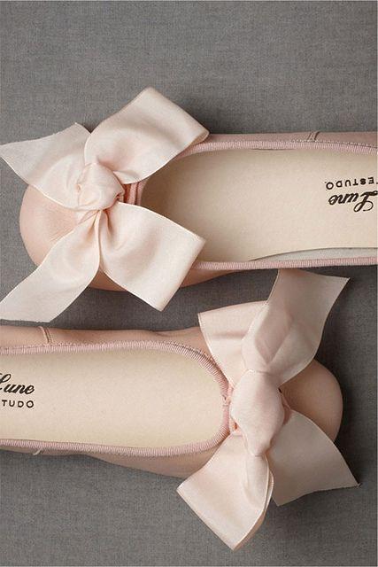 parisian ballet flats (pink and gray)
