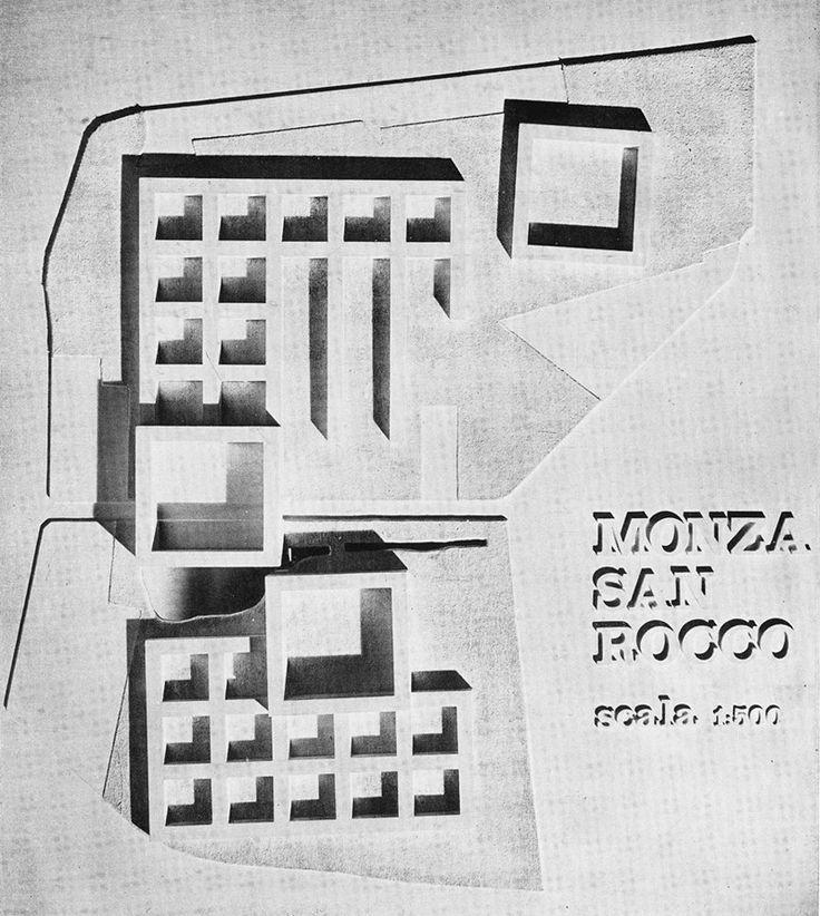 Aldo Rossi + Giorgio Grassi | San Rocco Residential Unit, Monza, 1966